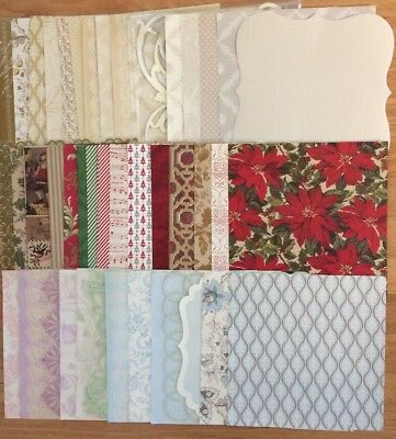 NEW! Anna Griffin 12X12 Scrapbook Paper  Lot Over 45 Sheets