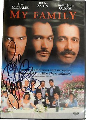 Jennifer Lopez My Family Autograph DVD Hand Signed on Plastic cover COA