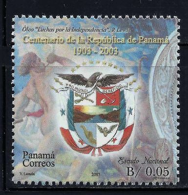 Panama Stamp 2003 -National Arms- Scott #919 Mnh Og