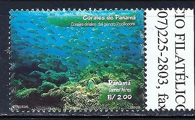 Panama Stamp 2002 -Corals- Scott #904 Value $8.00 Mnh Og
