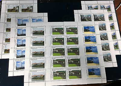 New Panama 2016-17 Blocks - Pages  Set - Latest Issues - Mnh -  Face Value $164