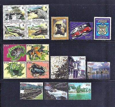 Panama 1997 Stamps Lot - Mnh Og Mint, Excellent Scott Catalog Value $21.80