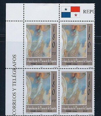 Panama Plate Block Independence From Spain - #896 2002 Mnh Og
