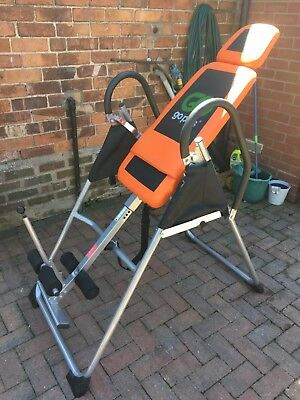Foldable Premium Gravity Inversion Table Back Therapy Fitness Reflexology 150KG