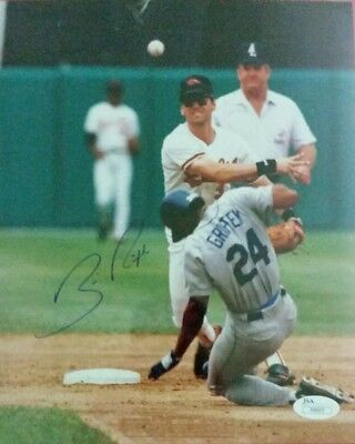 Bill Ripken autographed 8x10 photo JSA certificate