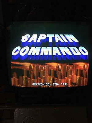 Captain Commando Arcade Pcb