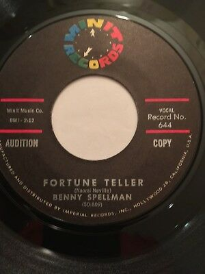 Benny Spellman - Fortune Teller - Original Demo Northern Soul Wigan Casino Torch