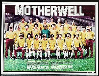 Football Team Picture Motherwell Shoot