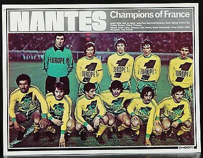 Football Team Picture Nantes Shoot