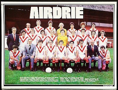 Football Team Picture Airdrie Shoot