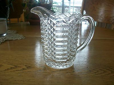 Vintage Eapc Diamond And Baguettes Pattern Syrup-Cream Pitcher