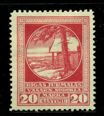 Latvia Holiday Home Vasarnamiai Revenue Tax: 20s Red MNG - SEE SCAN $$$