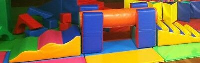 Soft Play Balance Beam, Steps And Slide Commercial