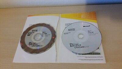 Microsoft Office 2007 Ultimate Hero Edition Win 32 Pc 2 Disc Mint Boxed