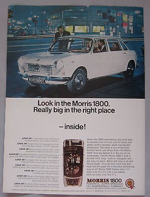 1966 Morris 1800 Original advert No.1