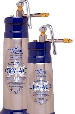 New Brymill CRY-AC 3 Cryosurgery 10oz with 10 tips
