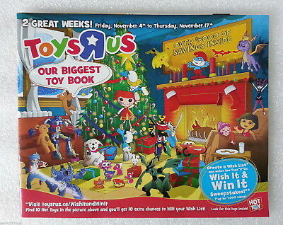 Catalog Toys R Us Magazine November 4 - 17 2011 Biggest Toy Book 64 Pages Canada