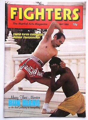 FIGHTERS The Martial Arts Magazine May 1984 Sam Kwok Wing Chun / Trevor Roberts