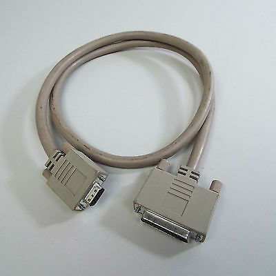 Amiga Rgb Cable For Commodore Rgb Monitors Db23 To Db9 Female (T28)