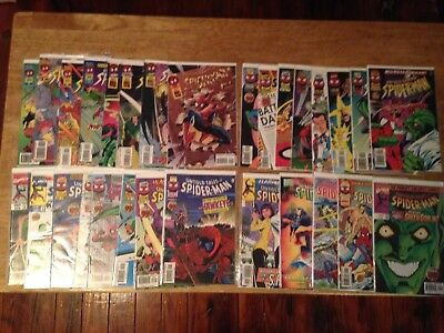 Untold Tales of Spider-Man #1-25++ COMPLETE SET VF/NM Marvel FULL RUN 29 Issues!