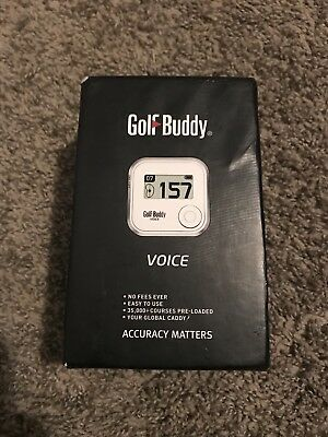 Golf Buddy Voice GPS Barely Used