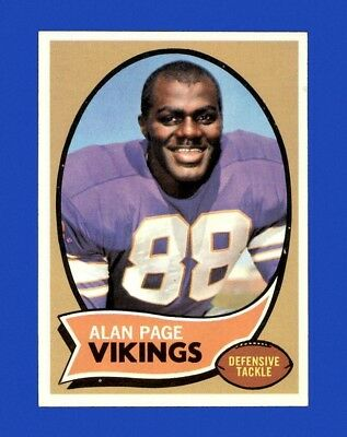 1970 Topps Set Break # 59 Alan Page RC NM-MT N00410