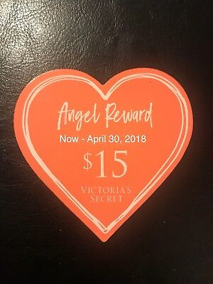 (2)$10, (1)$40, (3)$15 & $(2)10 Bday VS Reward Good On Line And In Store