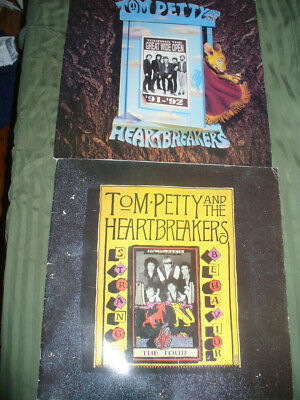 TOM PETTY AND THE HEARTBREAKERS Strange Behavior & Great Wide Open Tour Books
