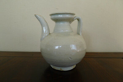 Very old Chinese glazed pottery ewer