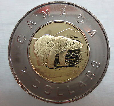 2001 Canada Toonie Proof-Like Two Dollar Coin - A