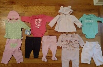 0-3 month girls gap  old navy winter/fall clothes lot