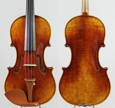 Andrea Amati 1560 Violin Copy! ! Antique varnish M2959 Professional tone!