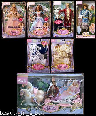 Anneliese Erika Barbie Doll Royal Kingdom Carriage Princess and the Pauper Lot 7