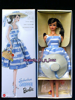 """Suburban Shopper Barbie Doll Collector's Request Reproduction Repro NRFB """""""
