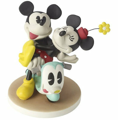 Mickey Mouse Minnie Precious Moments Love Can Take Us Anywhere Scooter NWOB