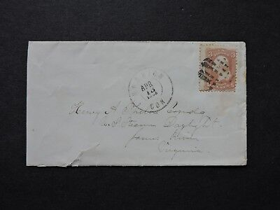 1865 Hartford Ct Fancy > Uss Daylight James River Va Civil War !! Navy Ship Cmdr