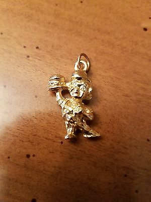 Big Boy Gold Tone Pendant