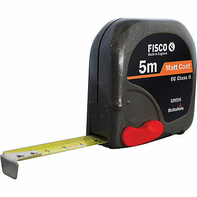 Fisco Unimatic II Tape Measure Metric 5m 16mm