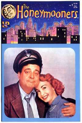 The Honeymooners #1 NM+ 9.6 white pages  Photo Cover  Lodestone 1986  No Reserve