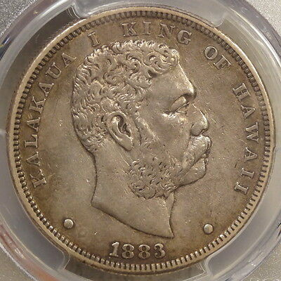 1883 Hawaiian Dala, Hawaiian Dollar, Choice EF, PCGS EF-45, Nice & Original!