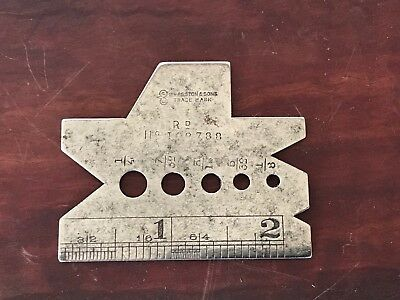 Edward Preston No 2407 Engineers John Bull Pocket Gauge