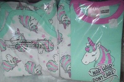 1 x unicorn baby romper size 000 00 0 1 2 cotton mint white pink girls new