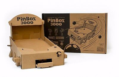 Pinbox 3000 Pinball Machine with a Massive assortment of Decoration Supplies