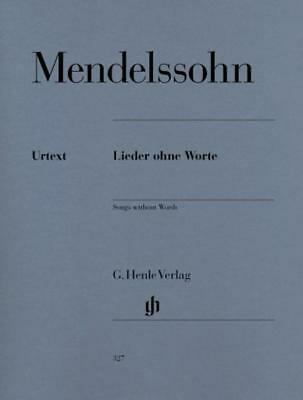 Mendelssohn - Songs Without Words Urtext