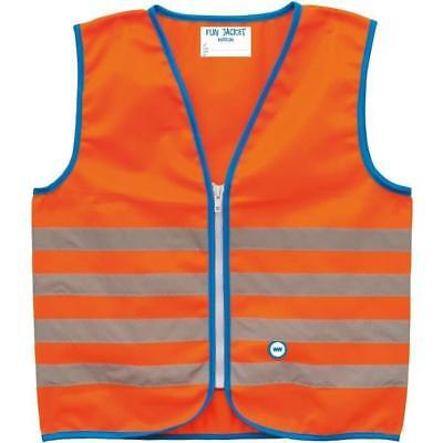WOWOW Gilet de sécurité enfant Fun Jacket - Orange