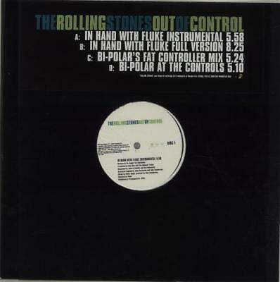 """Out Of Control - Do... Rolling Stones UK 12""""  record (Maxi) promo"""