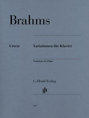 Brahms - Variations For Piano Complete