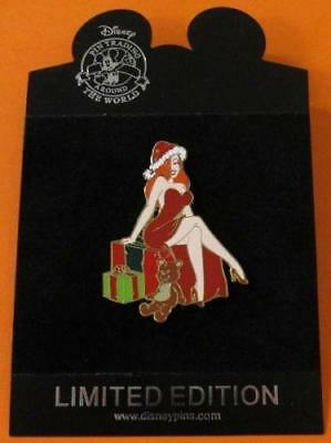 Disney Pin DS Jumbo - Jessica Rabbit as Santa Claus w/ Gifts  LE300  ***NOC***