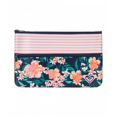 Roxy Double Emotions Pencil Case Girls in Dress Blue Island Tropic