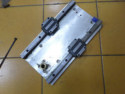 LINEAR STAGE - Aluminum Plate with two bearing blocks C2K15 - Sweet!!